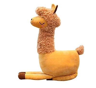 FUYUHAN Simulación Camel Plush Mochila Soft Animal Alpaca Plush Toys Doll para niños Kawaii Cartoon Bag para niña Regalo Creativo por FUYUHAN