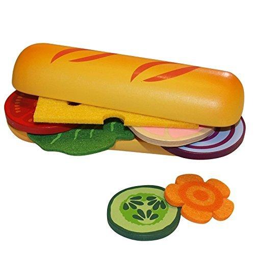 Beluga Spielwaren 30886 Fresh & Yummy Food Bag Baguette 30886-Fresh und Yummy