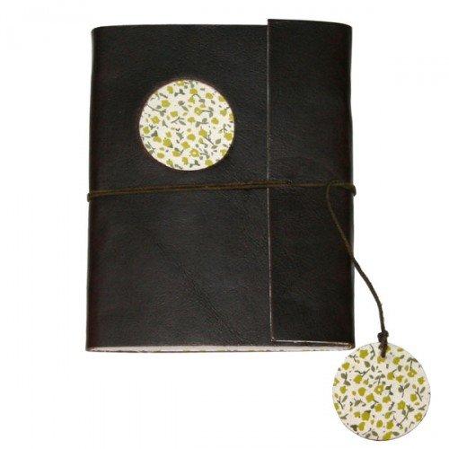 Lamali decorazioni e accessori-portadocumenti da viaggio in pelle, dimensioni: 14