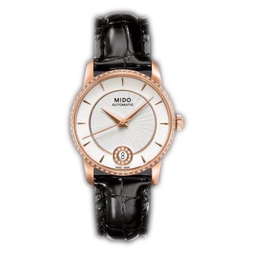 Mido M007.207.66.036.26 - Reloj Analógico Para Mujer, color Blanco/Negro