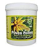 Pine Pollen I Pinien Pollen I 270 Kapseln je 400g I Wildsammlung I 99% Zellwandgebrochen I in deutschem Labor auf Schadstoffe geprüft I Hergestellt in Deutschland