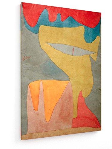 Paul Klee - Fräulein - 1934 - 40x60 cm - Textil-Leinwandbild auf Keilrahmen - Wand-Bild - Kunst, Gemälde, Foto, Bild auf Leinwand - Alte Meister / Museum Fräulein Klee