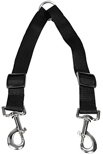 stgood, kein Hund Leine Kupplung, doppelte Hunde Verstellbare Splitter Führleine strapazierfähigem Walker Trainer Leine für zwei Hunde -