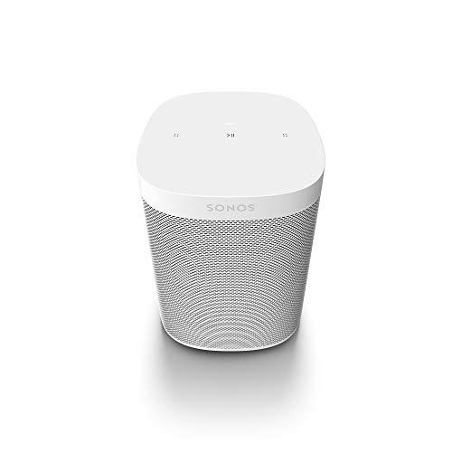 Sonos One SL All-In-One Smart Speaker (Kraftvoller WLAN Lautsprecher mit App-Steuerung und AirPlay 2 - Multiroom Speaker für unbegrenztes Musikstreaming) weiß