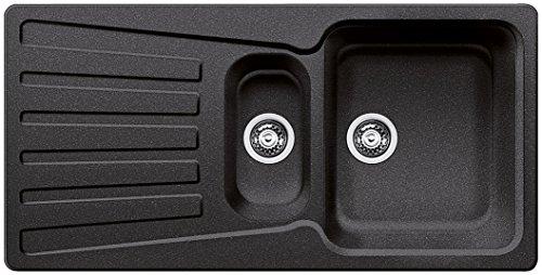 Blanco Nova 6 S Küchenspüle, Silgranit, anthrazit-schwarz, 510462
