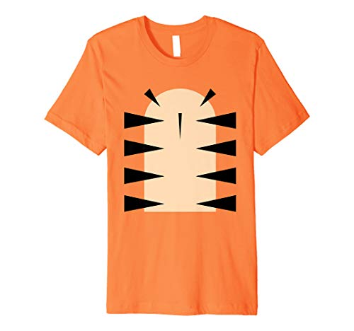 Tiger Kostüm T-Shirt - Fastnacht Karneval