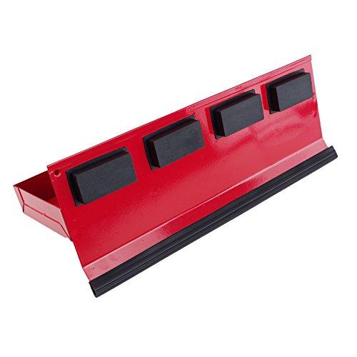 Werkzeugablage magnetisch 31×11,5cm rot Metall Ablage Zubehör Werkstattwagen - 3