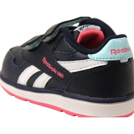 DASH COURT 2V - Chaussures Bébé Fille Reebok Bleu