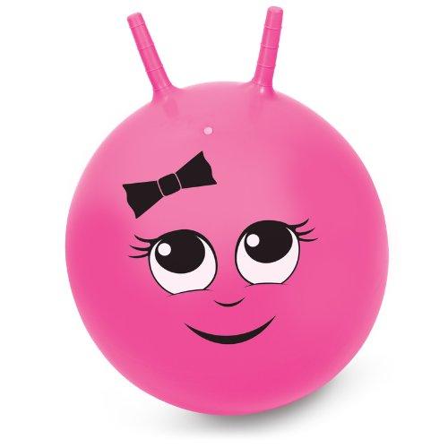 Space Hopper Hüpfball / Sprungball für Mädchen (45 cm, Rosa) - Größe Gut für kleinere Kinder ab 3 Jahren Geeignet