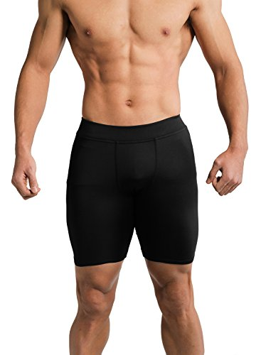 Tough-Mode-Mens-Compression-Pants-Athletic-Briefs-WOD-Shorts-Crossfit-Tights-Basketball-Gym-Workout