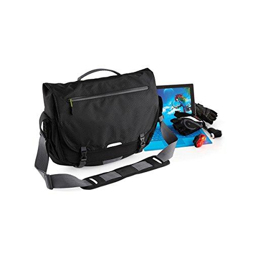 Quadra SLX Messenger-Tasche mit Schulterriemen, 15 l Schwarz