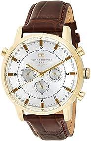 Tommy Hilfiger Men's Quartz Watch with Chronograph Quartz Leather 179