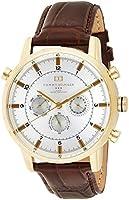 ساعة جلدية بحركة كوارتز مع عداد للثواني بحركة كوارتز 1790874 من تومي هيلفيجر