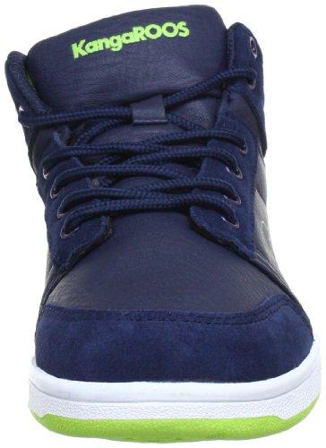 KangaROOS - Skye, Stivali  infantile Blu (Blau (dk.navy/lime 481))