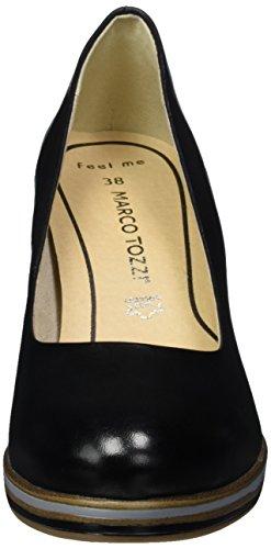 Marco Tozzi Premio 22438, Escarpins Femme Noir (Black 001)