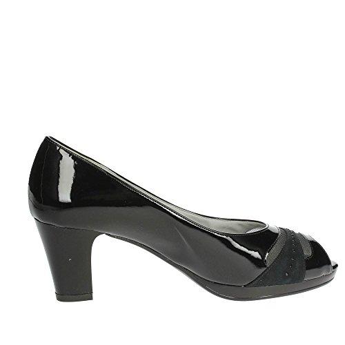 Cinzia Soft 311190 Open Toe Chaussures Femme Noir