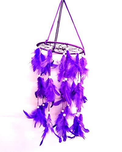 Design Traumfänger, zum Aufhängen an der Wand, Violett ()