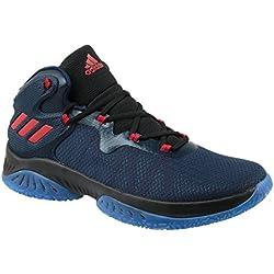 Adidas Explosive Bounce, Zapatillas de Baloncesto Unisex Adulto, Varios Colores (Maruni/Escarl/Negbas), 46 EU