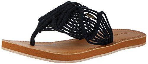O'Neill Fw Crochet Sandal, Chaussures de Plage et Piscine Femme Schwarz (Black Out)