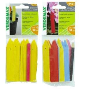 Verdemax X4421 - Etiquetas Colores semilleros, 20