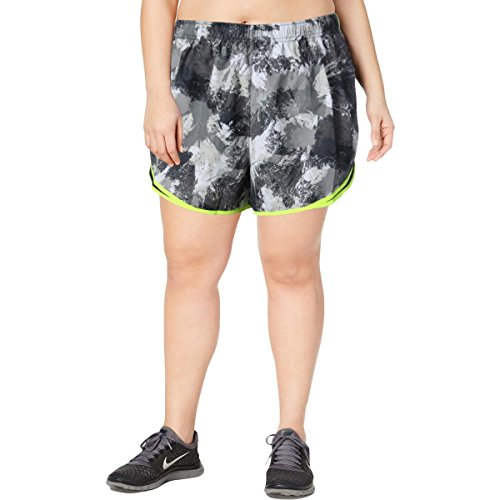Nike Women's Plus Size Chalkdust Printed Tempo Shorts (Printed Short Tempo)