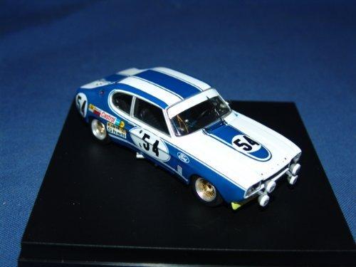 Trofeu 1/43 Ford Capri 2600RS 72 Le Mans race victory TS # 54 G.Birrel (japan (Mens Capris)
