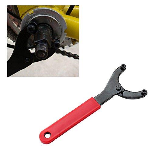 lailongp Einstellbare Fahrrad Fahrrad Radfahren Schraubenschlüssel, MTB Tretlager Achse Schraubenschlüssel Repair Tool