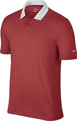 Nike Icon Heather Polo pour homme XXL rouge/blanc