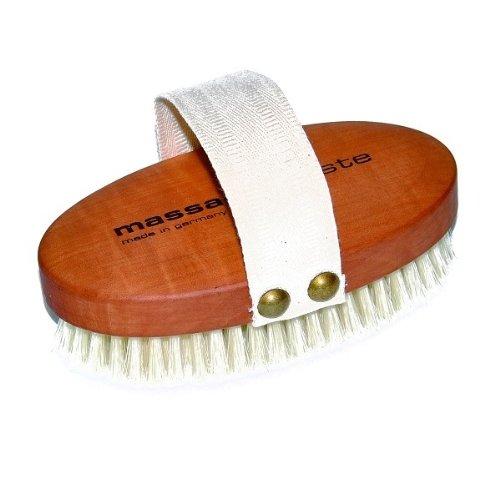 brosse de massage bois de poirier
