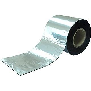 SILISTO Bitumenband Reparaturband 200 mm x 10 Meter, Farbe Alu