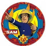 Amscan International 9902175Feuerwehrmann Sam Pappteller 23cm