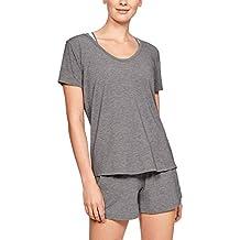 Under Armour Damen Recovery Sleepwear Ss Kurzarmshirt