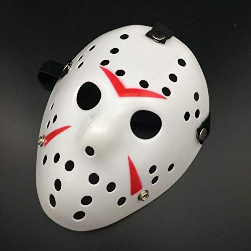 Party Masks - Jason Vs Friday The 13th Horror Hockey Cosplay Costume Halloween Killer Mask - Animal Masks Adults Superhero Women Children Face Full Birthday Party Black Hats Masquerade Kids That
