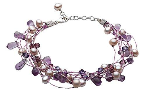 dew-womens-multi-stranded-amethyst-swarovski-crystal-and-freshwater-pearl-bracelet-of-length-of-8-in