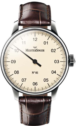 Mens Meistersinger No 01 Mechanical Watch AM3303