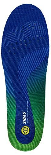 Super Comfort Einlegesohlen (Sidas 3D Comfort Anatomisches Fußbett Unisex, Uni, 3D Comfort, blau)