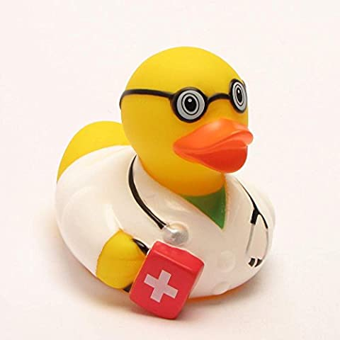 Lilalu 8 x 8 cm / 50 g Collector y Baby goma emergencia juguete del baño del pato