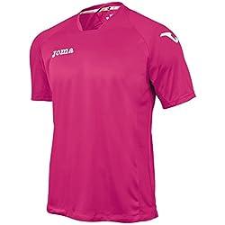 Joma 1199.98.025 - Camiseta de equipación de manga corta para hombre, color rosa, talla L