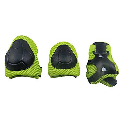 Bambini Kit protezione - Sport Protective Gear per Ginocchia gomiti Polsiere Protettivo Set Per Kids Skateboard / Bmx / Scooter / Bicicletta / Pattini in linea