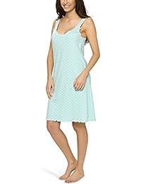 Damen Nachthemd mit schmalen Trägern - Moonline