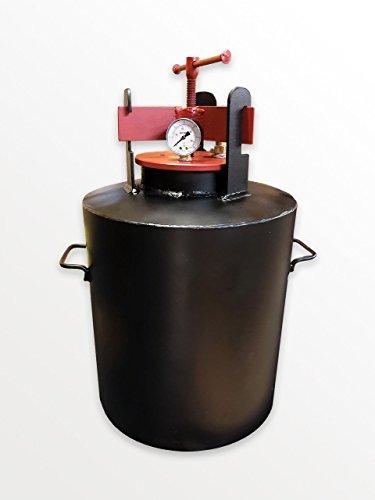 Standart Autoklav Haushalt - entwickelt für die Konservierung von Haushaltsprodukten (25 Gläser 0,5 Liter oder 12 Gläser 1 Liter)