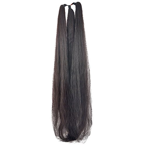 Nylon False Hair Extension Thick For Women