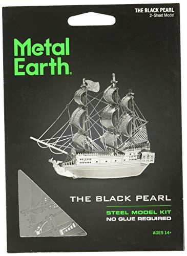 Fascinations - Modellino di veliero dei Pirati La Perla Nera, Colore: Nero