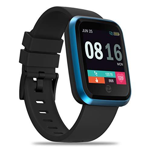 Bluetooth Smartwatch, BZLine Zeblaze Crystal 2 Intelligente Uhr Armbanduhr Sport Fitness Tracker mit Schrittzähler Blutdruck Schlaftracker Kompatibel mit Android und IOS Crystal Bluetooth