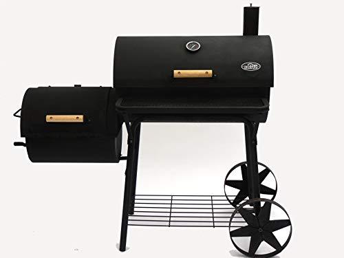 I&O BBQ ® Smoker Grill Cajun Pro ; Lokomotive, Kohlegrill