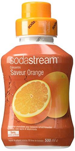 Sodastream Concentré Sirop Saveur Orange pour Machine à Soda 500 ml