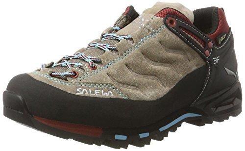 SALEWA - WS MTN TRAINER GTX, Scarpe da ginnastica da donna Beige / Rosso