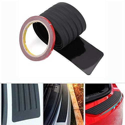 Auto Ladekanten/Schutzplatte Gummi Abdeckung Schutz Pad Zierleiste Schwarz