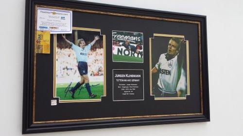 Rare-Jurgen-Klinsmann-of-Tottenham-Signed-Photo-Picture