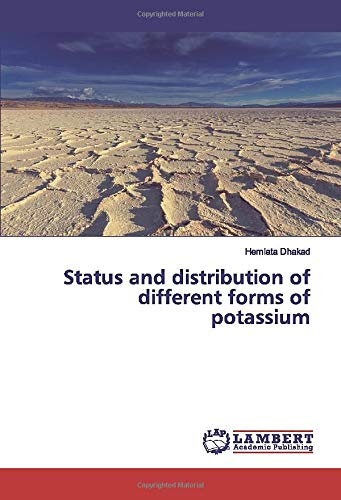 Status and distribution of different forms of potassium -